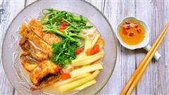 Người Hải Dương có món bún cá nổi tiếng là rất ngon, hóa ra cách làm cũng chẳng khó!