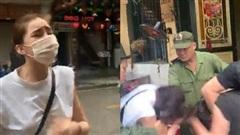 HOT: Lộ clip Lưu Đê Ly và antifan ẩu đả, giật tóc trên phố Hàng Buồm