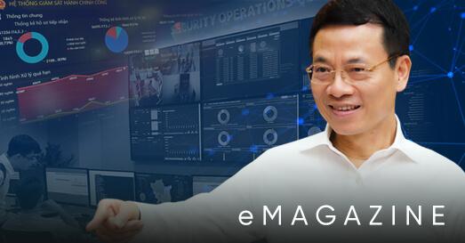 Bộ trưởng Nguyễn Mạnh Hùng: Chuyển đổi số là cuộc cách mạng toàn dân