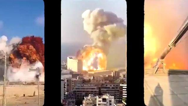 Hình ảnh vụ nổ kinh hoàng ở Lebanon qua 15 góc máy camera