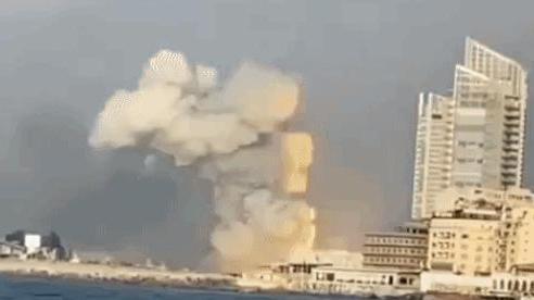 Vụ nổ cực lớn ở Li-băng: Nga công bố ảnh vệ tinh gây sốc