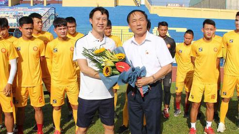 HLV Thanh Hoá: 'Đó là tuyên bố của lãnh đạo, đội bóng vẫn tập bình thường'
