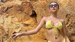 Ảnh bikini gợi cảm của hoa hậu Tường Linh gây bàn tán