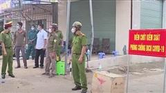 Thanh Hoá phong tỏa 2 khu phố với gần 600 hộ dân, nơi có người dương tính lần 1 với SARS-CoV-2