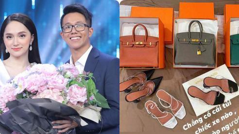 Bén duyên với chàng CEO điển trai, Hương Giang 'vui tay' tậu loạt túi Hermes giá cả tỷ đồng: Mỗi ngày đi làm diện 1 chiếc Hermes là có thật