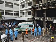 Ấn Độ: Cháy lớn gây thương vong tại cơ sở điều trị COVID-19