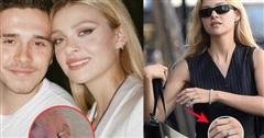 HOT: Hôn thê tài phiệt ẩn ý đã bí mật làm đám cưới với Brooklyn Beckham, khoe nhẫn kim cương 10 tỷ đồng sáng chói