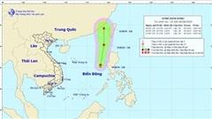 Dự báo thời tiết: Tin áp thấp nhiệt đới trên Biển Đông gây biển động