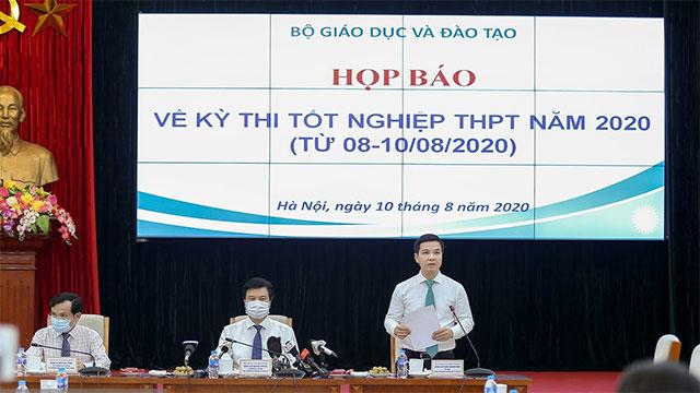 [TRỰC TIẾP] Họp báo 'nóng' kì thi tốt nghiệp THPT 2020
