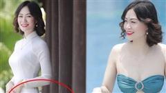 Thí sinh Hoa hậu Việt Nam 2020 lộ ảnh photoshop quá đà: Eo nhỏ siêu thực nhưng mỗi tội... chỉnh lố đến méo cả cột
