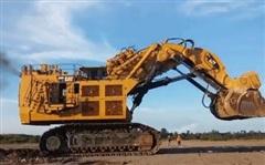 Sức làm việc 'siêu khủng' của Cat 6090 - cỗ máy xúc lớn nhất thế giới