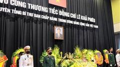 Hình ảnh Lễ viếng nguyên Tổng Bí thư Lê Khả Phiêu tại quê nhà Thanh Hóa