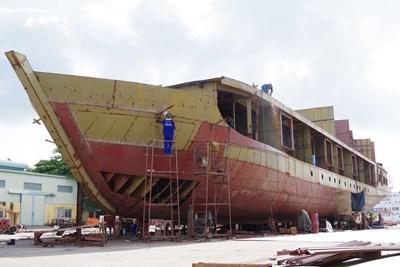 Nơi sinh, dưỡng những con tàu 'quân hàm xanh'