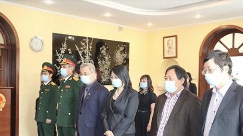 Lễ viếng nguyên Tổng Bí thư Lê Khả Phiêu tại Ukraine, Mông Cổ và Chile