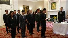 Đại sứ quán Việt Nam tại Hoa Kỳ tổ chức lễ viếng nguyên Tổng Bí thư Lê Khả Phiêu