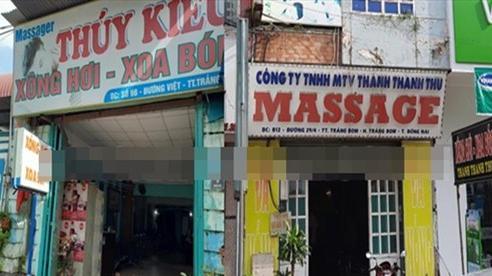 Phát hiện nhiều cơ sở masage cho nhân viên 'tắm tiên', kích dục cho khách