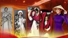 National Costume cho Khánh Vân phiên bản búp bê: 'Thiếu nữ bên hoa huệ' cầu kỳ, 'Nàng Tô thị' xuất sắc