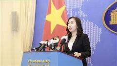 Bộ Ngoại giao thông tin về việc Malaysia truy đuổi tàu cá Việt Nam và làm 1 ngư dân Việt Nam thiệt mạng