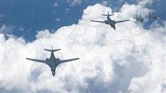 Trước thềm tập trận chung với Hàn Quốc, 4 máy bay ném bom Mỹ áp sáp bán đảo Triều Tiên