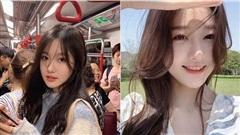 Nổi bần bật khi bị chụp trên tàu điện, cô nàng hot girl được mệnh danh 'tiểu thần tiên', so sánh nhan sắc với Lưu Diệc Phi