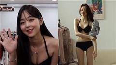 Thay đồ ngay trên sóng, hot girl Hàn Quốc khiến CĐM Việt Nam 'đổ rần rần'