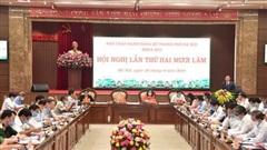 Thành ủy Hà Nội thảo luận, thông qua các dự thảo văn kiện để báo cáo Bộ Chính trị