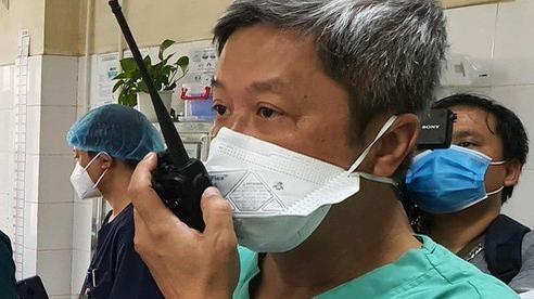 Thứ trưởng Bộ Y tế: 'Chúng tôi như xát muối trong lòng khi nhận thông tin bệnh nhân tử vong'