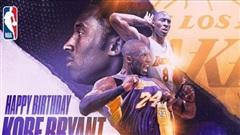 Chúc mừng sinh nhật cố huyền thoại Kobe Bryant, người truyền cảm hứng cho nhiều thế hệ cầu thủ trên thế giới