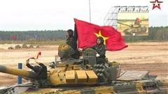 Cận cảnh màn thi đấu ấn tượng của đội tuyển xe tăng Việt Nam tại vòng loại Army Games 2020