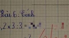 Bài toán cô và trò đều ra đáp án là 2 nhưng bị gạch sai, tưởng giáo viên chấm nhầm, nghe xong giải thích ai cũng phải lia lịa gật đầu