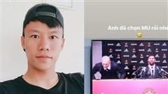 Quế Ngọc Hải bắt trend hay ho, quyết đưa Messi về... Manchester United