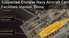 Lộ diện cơ sở hải quân bí mật của TQ: Tàu sân bay sẽ thường trực hiện diện ở Biển Đông?