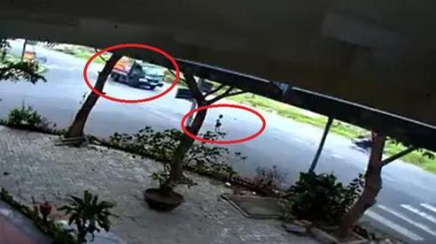 Đứa bé chạy ra giữa đường đúng lúc xe tải đi tới, hành động sau đó của tài xế khiến tất cả tán thưởng
