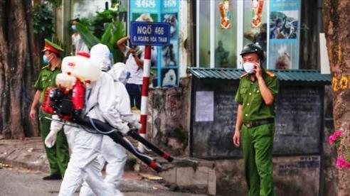 Hà Nội: Chưa rõ địa chỉ 7 trường hợp F2 liên quan đến ca dương tính với SARS-CoV-2 tại Cầu Giấy