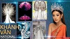 Lộ diện Top 8 trang phục dân tộc ấn tượng dành cho Khánh Vân 'chinh chiến' Miss Universe 2020