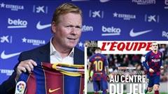 Barca dùng Griezmann 'dằn mặt' Messi