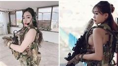 Cosplay 'đặc vụ' siêu nóng bỏng, cô nàng hot girl Việt khiến cộng đồng mạng cảm thán 'Tôi đầu hàng'