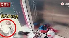 Mẹ bỏ con ngoài thang máy để cứu người già ngất xỉu nhưng phép màu không xảy ra, video ghi lại sự việc khiến mọi người cảm kích