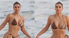 Kim 'siêu vòng 3' khoe hình thể nóng bỏng ở tuổi U40