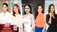 Hương Giang - Mai Phương Thúy - Lương Thùy Linh - Tiểu Vy đẹp hết phần thiên hạ đồng hành cùng Hoa hậu Việt Nam 2020