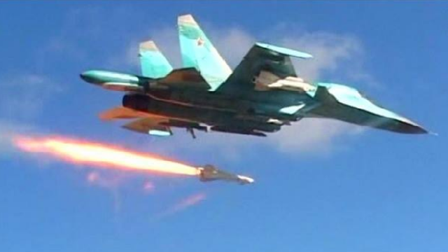 Máy bay chiến đấu KQ Nga 'trút cơn thịnh nộ', đánh phá dữ dội mục tiêu phiến quân ở Syria
