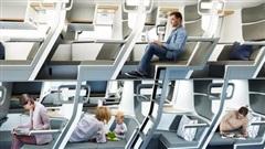Cận cảnh khoang máy bay hạng phổ thông trong tương lai: Du khách có thể thoải mái nằm dài với thiết kế ghế ngồi hoàn toàn mới
