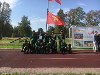Đội tuyển Huấn luyện chó nghiệp vụ của Việt Nam giành nhiều giải thưởng
