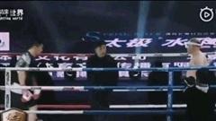 """Một cú huých khuỷu tay, võ sĩ Từ Hiểu Đông khiến cao thủ """"kungfu"""" gãy mũi"""