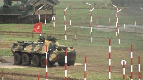 Hình ảnh đội tuyển Công binh Việt Nam thi đấu trận chung kết Army Games