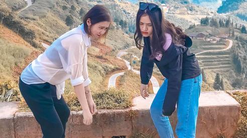 Hai cô gái rủ nhau phượt Hà Giang: Trải nghiệm mạo hiểm và loạt ảnh 'khó đỡ' trên từng cây số