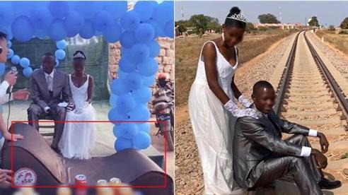 Mang 'ghế tình yêu' làm quà tặng đám cưới ở châu Phi, chàng Youtuber Việt khiến dân mạng cười không ngớt