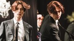 'Hồ ly' Lee Dong Wook đi phá đám cưới cũng đẹp vô thực, mê nhất là mái tóc bồng bềnh của 'anh chú'