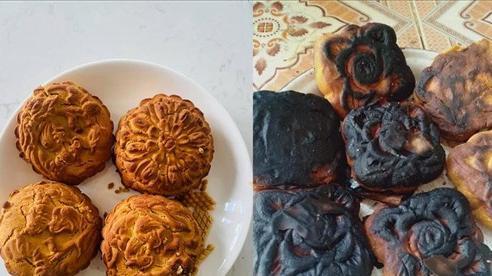 Những tác phẩm bếp núc 'gãy đổ' của hội chị em trong mùa Trung thu khiến dân mạng 'cười ngả nghiêng'