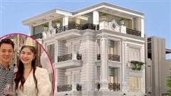 Cận cảnh căn biệt thự 2 mặt tiền hoành tráng của vợ chồng Đăng Khôi